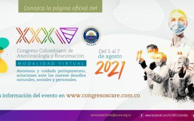 XXXIV Congreso Colombiano de Anestesiología y Reanimación